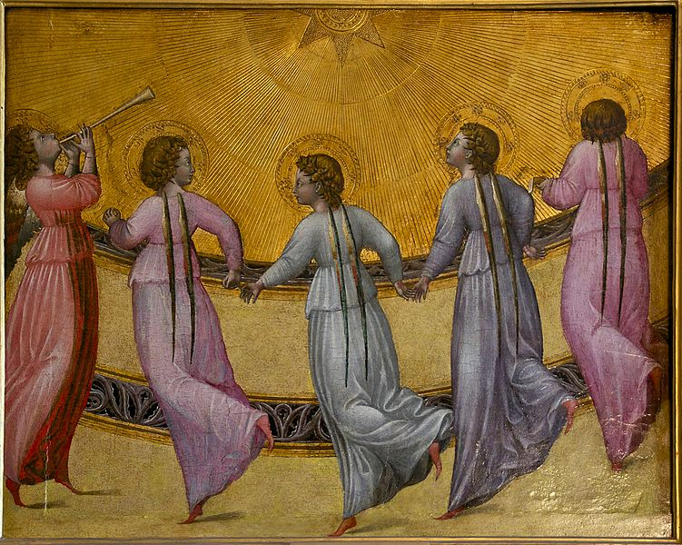 Dancing Angels_dancing_sun_Giovanni_di_Paolo_Condé_Chantilly